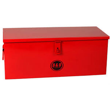 B&B Pipe Tools 7728 Storage Box - 28in. X 12in. X 11in. 7728