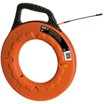 Klein 56055 100 ft 30 5 m multi groove fiberglass for Klein fish tape