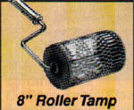 CC946 Kraft Tools - 8in Roller Tamp w/1-3/8in Button Handle Adapter CC946