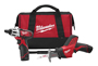 Milwaukee Electric Tools - 2490-22 - M12 2 Tool Combo Kit (Screwdriver,Hackzall Reciprocating Saw 2490-22