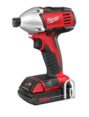 Milwaukee Electric Tools - 2650-21 - M18 1/4in Hex Compact Impact Driver 2650-21