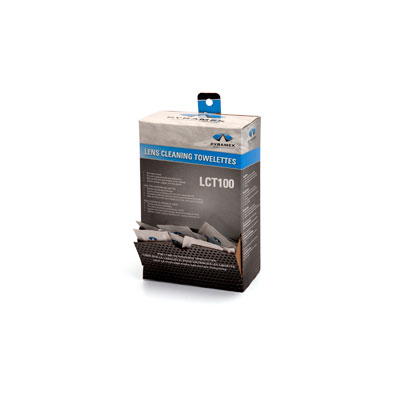 Pyramex LCT100 Lens Cleaning Towelettes - Box of 100 PYR-LCT 100