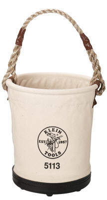 Klein - Bucket, #6 Canvas, Tapered-Wall 5113