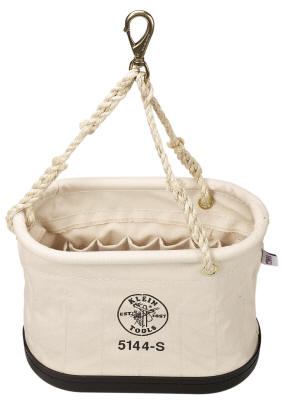 Klein - Bucket, #6 Canvas, Oval, 15 Pockets 5144S