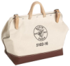Klein - Tool Bag, Canvas, w/ Vinyl, 18in.L x 6in.W x 14in.D 5102-18