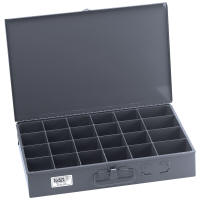 Extra-Large Parts-Storage Box, 24-Compartment 54447