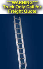 Louisville Ladder - AE2232 - 32ft Aluminum Extension Ladder - 300lb Rated Type 1A AE2832