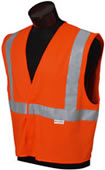 Jackson Safety - 3009948 Safety Vest Class II Orange With Silver Reflective - 3X 3009948