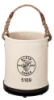 Klein - Bucket, #6 Canvas, Wide, Straight-Wall, Pocket, Snap 5109PS