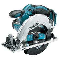 Makita - BSS611Z 18V LXT Lithium-Ion Cordless 6-1/2in Circular Saw Tool Only BSS611Z