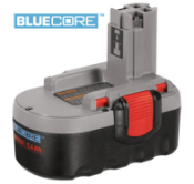 BAT181  Bosch - 18V 2.4 Amp Hour BLUECORE Battery BAT181