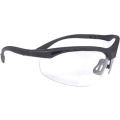 Radians CH1115 Cheaters Bi-Focal Clear 1.5X Safety Glasses CH1115