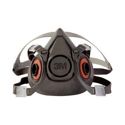3M 6200 Half Facepiece Reusable Respirator (Medium) MMM-70070315547