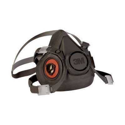 3M 6300 Half Facepiece Reusable Respirator (Large) MMM-70070315554
