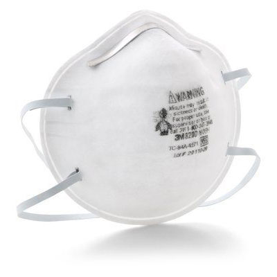 3M 8200 N95 Particulate Respirator - Dust Mask (Box of 20) MMM-50051131919131