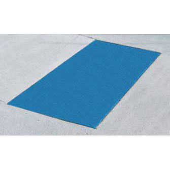 ADA Solutions 2ft. X 3ft. - Cast In Place Tactile Surface Blue 2436IDPAV2-BLUE