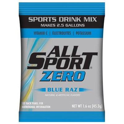 All Sport Zero 2.5 gal Powder, Blue Razz ALL-FASPOWBRZ