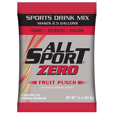 All Sport Zero 2.5 gal Powder, Fruit Punch ALL-FASPOWFPZ