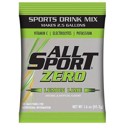 All Sport Zero 2.5 gal Powder, Lemon Lime ALL-FASPOWLLZ