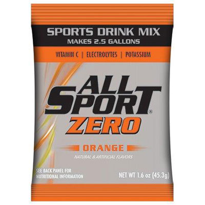 All Sport Zero 2.5 gal Powder, Orange ALL-FASPOWORZ