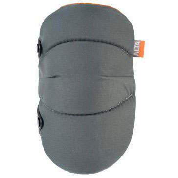 Alta Industries  50703.5 AltaSOFT Knee Pads, Gray/Orange w/AltaLOK ALT-50703.50