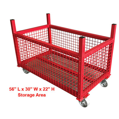 B&B 2034 Fully Welded Crate Cart  2034