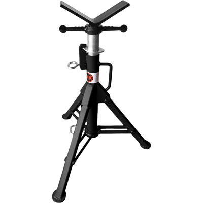 Pipe Jack Stands >> B B 3900 27 48in V Head Folding Pipe Jack Stand