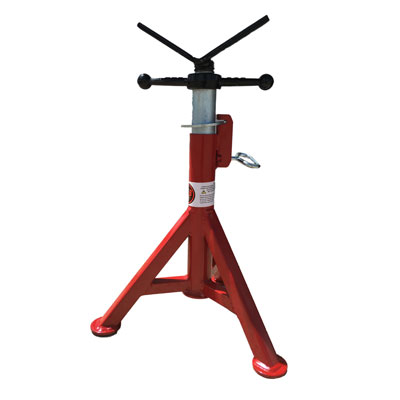 Pipe Jack Stands >> B B Pipe Tools 4200 Short Fixed Leg V Head Pipe Jack Jim Slims