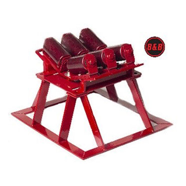 B&B Pipe Tools 2115HD Pipe Launcher Stand 4-20 in. Pipe, Heavy Duty 2115HD