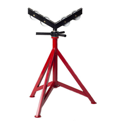 Pipe Jack Stands >> B B 3512 3 Leg Giant Pipe Jack Stand With Heavy Duty Steel Wheels