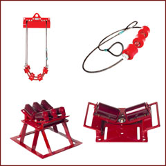 Pipe Rigging - Pipe Transport - Tool Storage