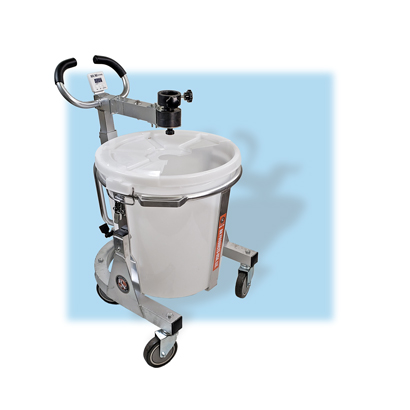 Benner Nawman BNMS-100 Portable Grout and Epoxy Mixing Station Stand/Bucket Only BNMS-100