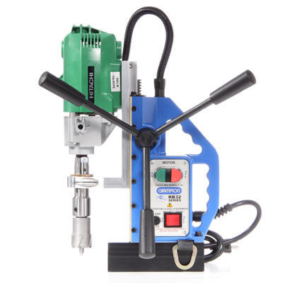 Champion RB32 MiniBrute Magnetic Drill Press for Drilling Steel RB32