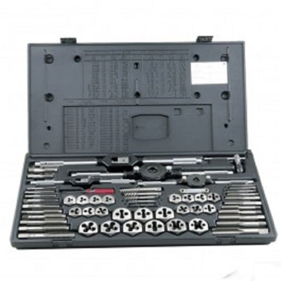 Champion CS60P Complete 60 Piece Tap & Die Set for NC & NF Threads CS60P