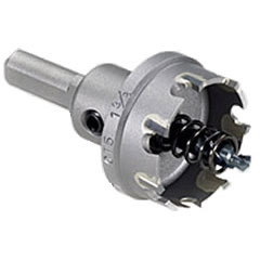 Champion CT5 1-1/8in.Carbide Tipped Hole Saw 3/16in Depth for Drilling Metal CCT-CT5 1 1/8