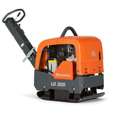 Husqvarna LG300 20in Reversible Plate Compactor with Honda 967855301