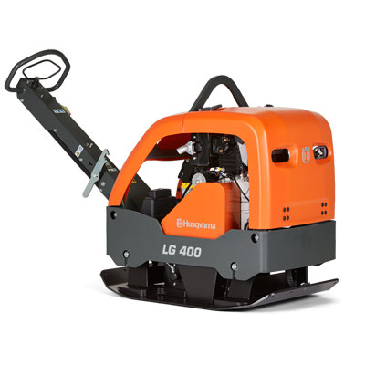 Husqvarna LG400 26in Reversible Plate Compactor with Honda 967855401