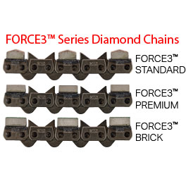 FORCE3 Series Diamond Chains