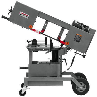 Jet 424460 HVBS-8-DMW 8in. Horizontal/Vertical Dual Mitering Portable Band Saw 3/4 HP, 115V, 1-Ph 424460