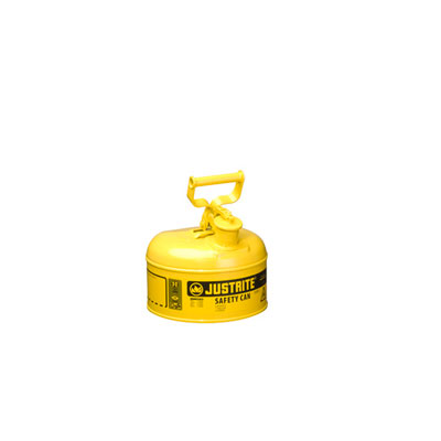 Justrite - Metal Safety Can Type 1, 1Gal, Yellow 7110200