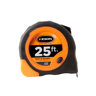 Keson PG25 25 FT Economy Series Short Tape Measure KES-PG25