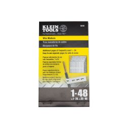 Klein 56250 Wire Markers-Numbers 1-48 56250