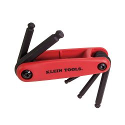 Klein 70572 Grip-It Five Key Ball Hex Set - Metric 70572
