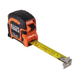 Klein 86375 7.5 M Double Hook Magnetic Tape Measure 86375