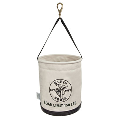Klein 5109SLR All Purpose Work Canvas Bucket 5109SLR