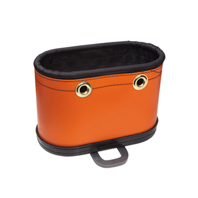 Klein 5144BHB Hard-Body Oval Canvas Bucket with Kickstand 5144BHB