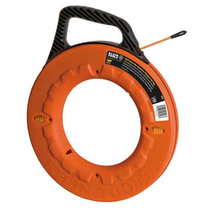 Klein 56058 100 ft 30 5 m non conductive multi for Klein fish tape