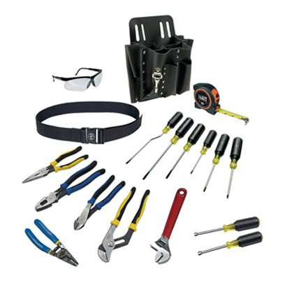 Klein 80118 18 Piece Journeyman Tool Set 80118