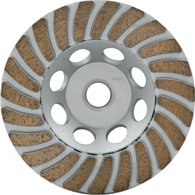 Lackmond SPPTC4MN SPP 4in. Turbo Diamond Cup Wheel for Granite and Marble LAC-SPPTC4MN