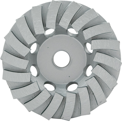 Lackmond SPPSTC4N18 SPP 4in. Turbo Diamond Cup Wheel for Concrete and Block LAC-SPPSTC4N18